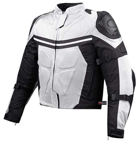 Pro Mesh Motorcycle Rain Jacket from Jackets 4 Bikes