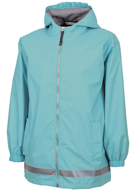 Youth New Englander Rain Jacket from Charles River Apparel