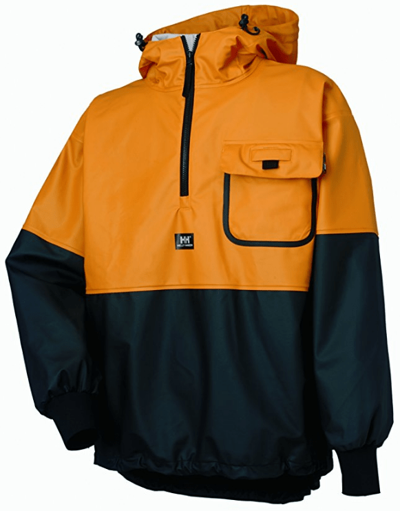 Workwear Men's Roan Rain and Fishing Anorak Jacket from Helly Hansen