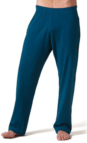 Organic Cotton Long Yoga Pants from Beckons