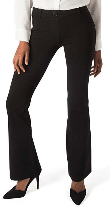 Women's Dress Pant Yoga Pants (Boot-Cut) from Betabrand