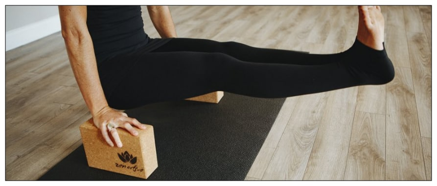 yoga block from Zen Active