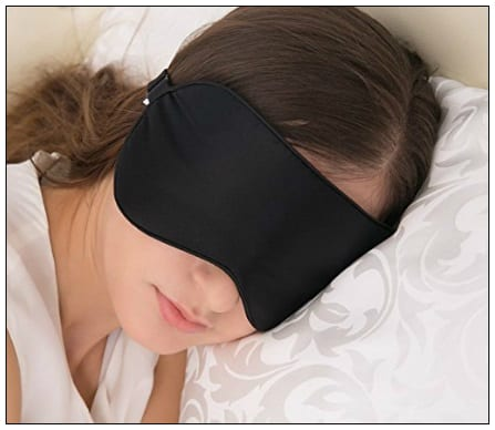 natural silk blindfold