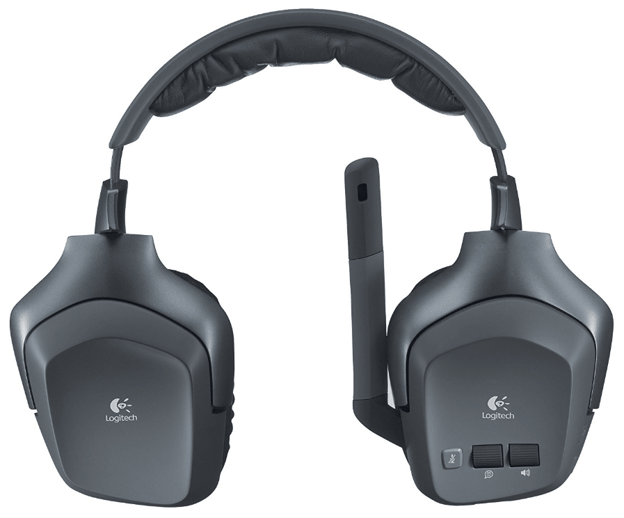 Logitech Wireless Headset F540 with Stereo Game Audio