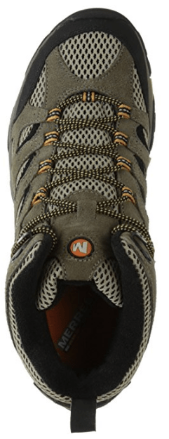 Men's Moab Ventilator Mid Hiking Boot from Merrell