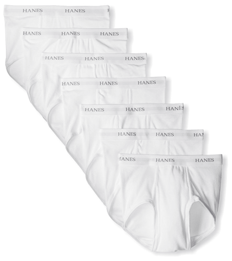 Men's Ultimate FreshIQ Full-Cut Briefs (7-Pack) from Hanes