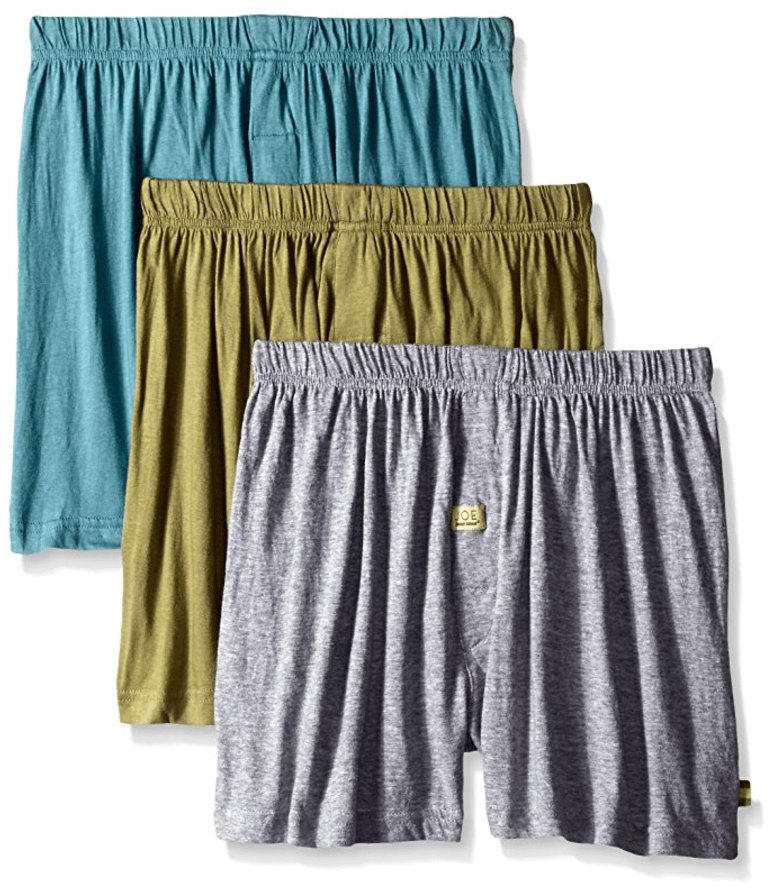 Mens 3 Pack Knit Jersey Boxers from Joseph Abboud