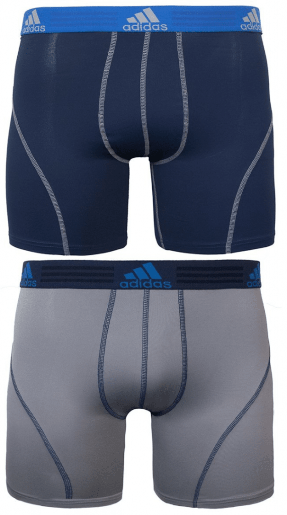 Men's Sport Performance Climalite Boxer Brief Underwear from Adidas