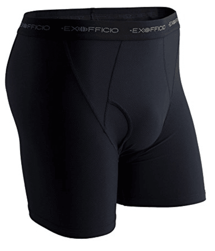 Men's Give-N-Go Boxer Brief Travel Underwear from ExOfficio