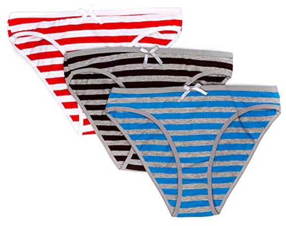 Bikini Panties for Women (Pack of 3) from Nabtos
