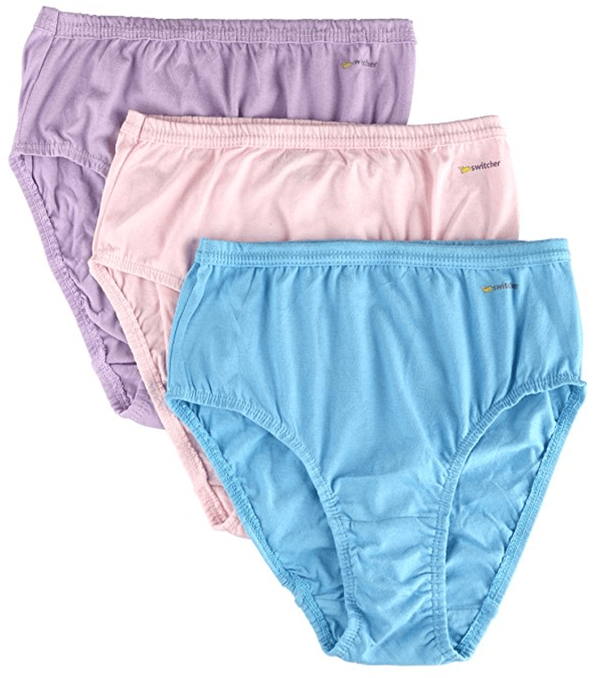 Women's Cotton Comfortable Hipster Panties from Switcher