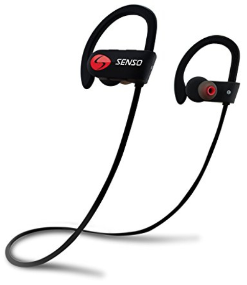 SENSO Mic IPX7 Waterproof HD Stereo Headsets